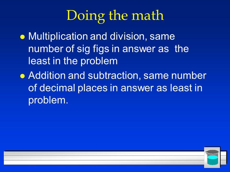 More Preliminaries Scientific Method Metric System Uncertainty