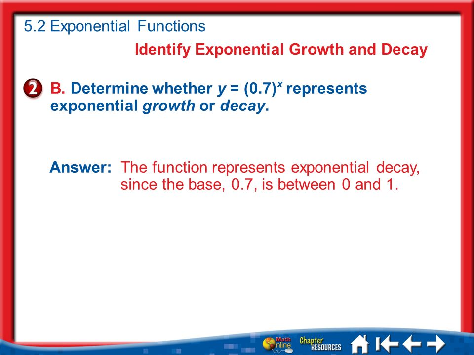 Lesson 1 Ex2 Identify Exponential Growth and Decay B.