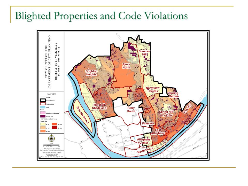 Blighted Properties and Code Violations