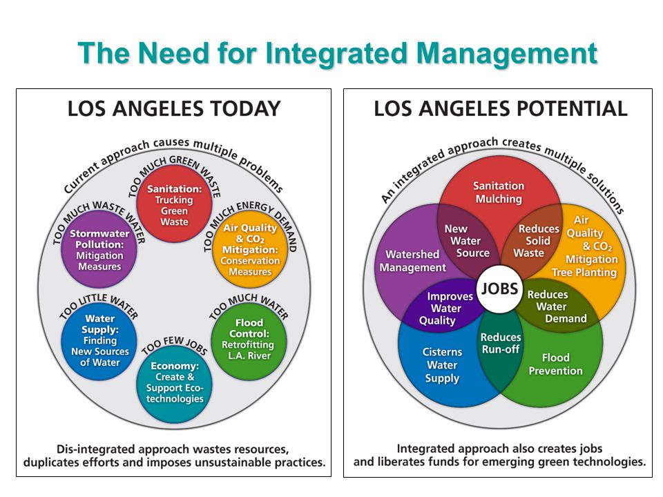 The Need for Integrated Management