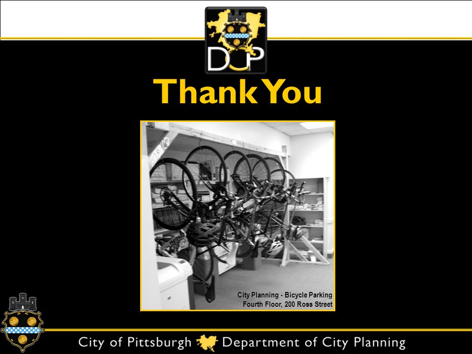 Thank You City Planning - Bicycle Parking Fourth Floor, 200 Ross Street