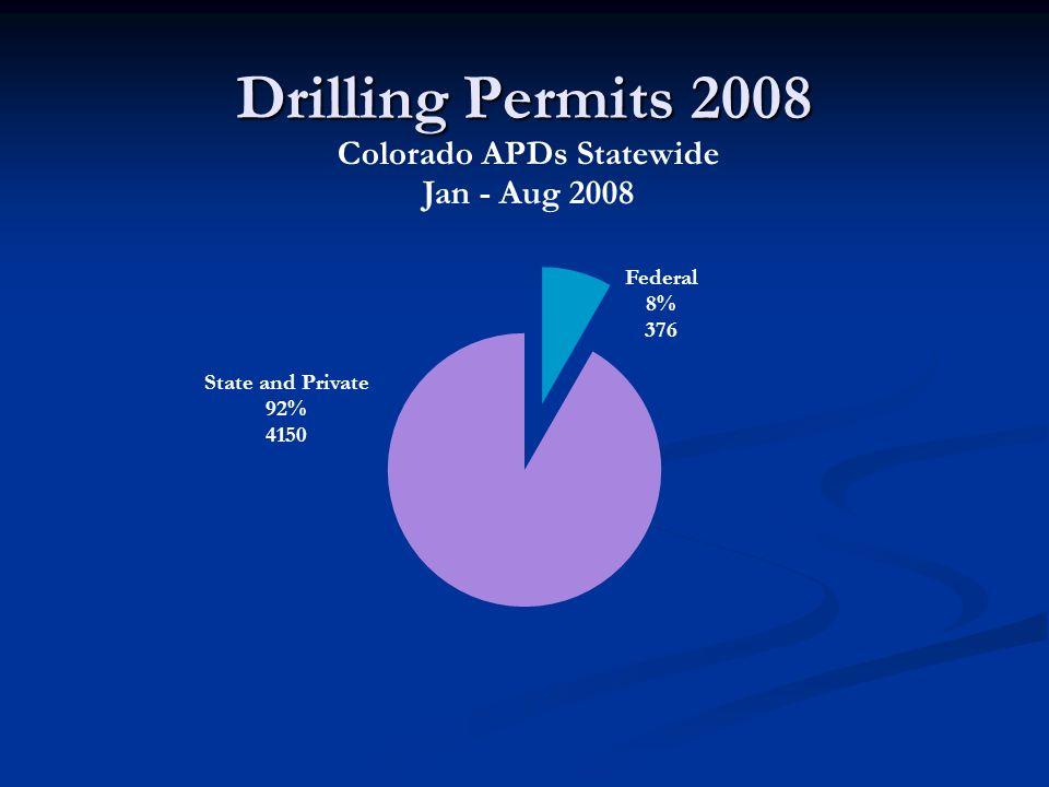 Drilling Permits 2008