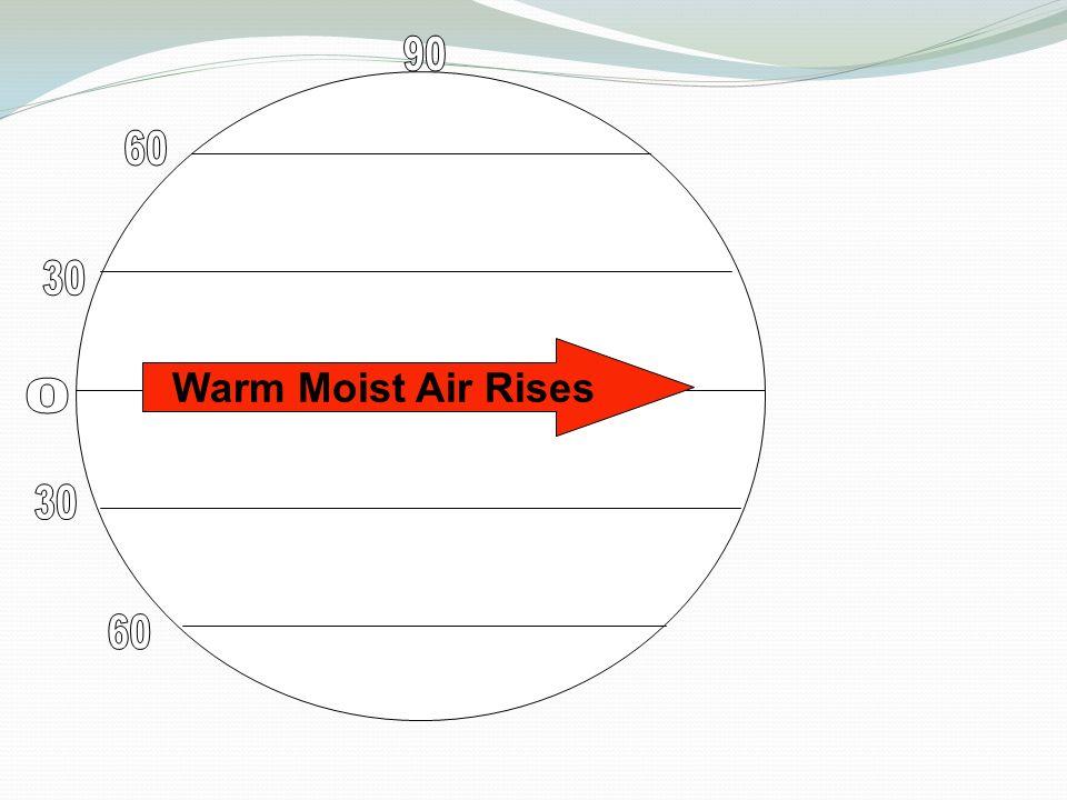 Warm Moist Air Rises
