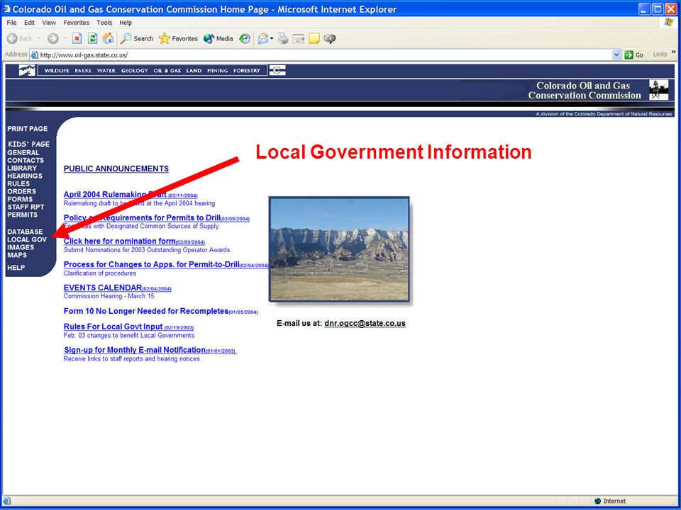 57 Local Government Information