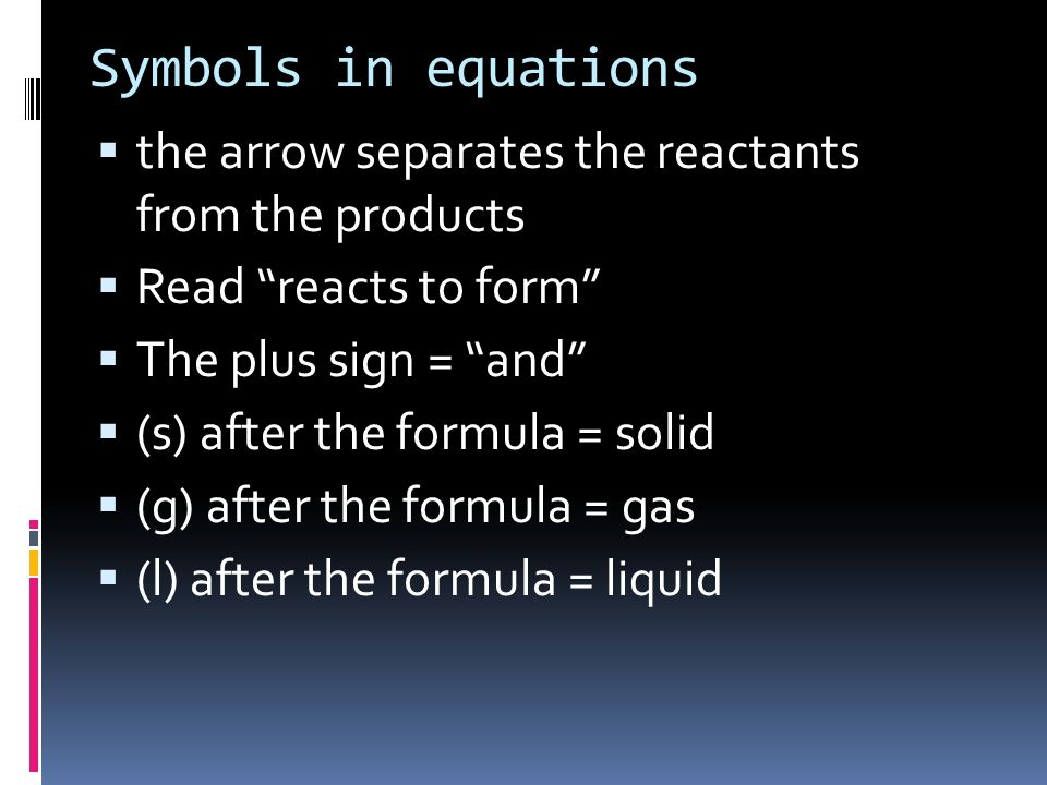 Ionic Equations Many reactions occur in water- that is, in aqueous solution Many ionic compounds dissociate, or separate, into cations and anions when dissolved in water AgNO 3 + NaCl AgCl + NaNO 3 1.