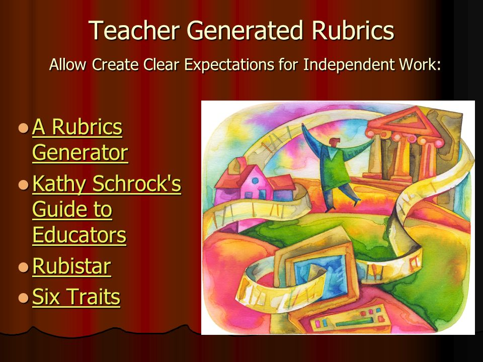 Student Generated Rubrics More Powerful than teacher generated.