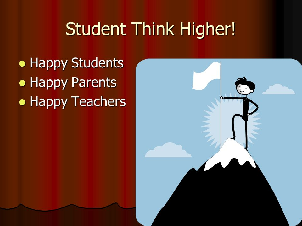 Student Think Higher.