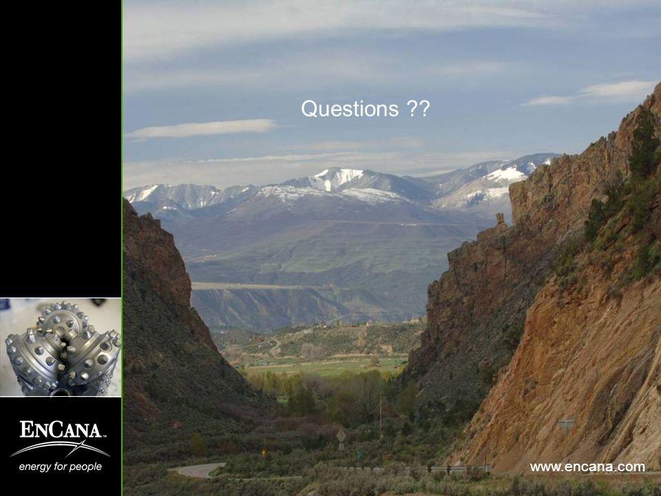 Questions ?? www.encana.com