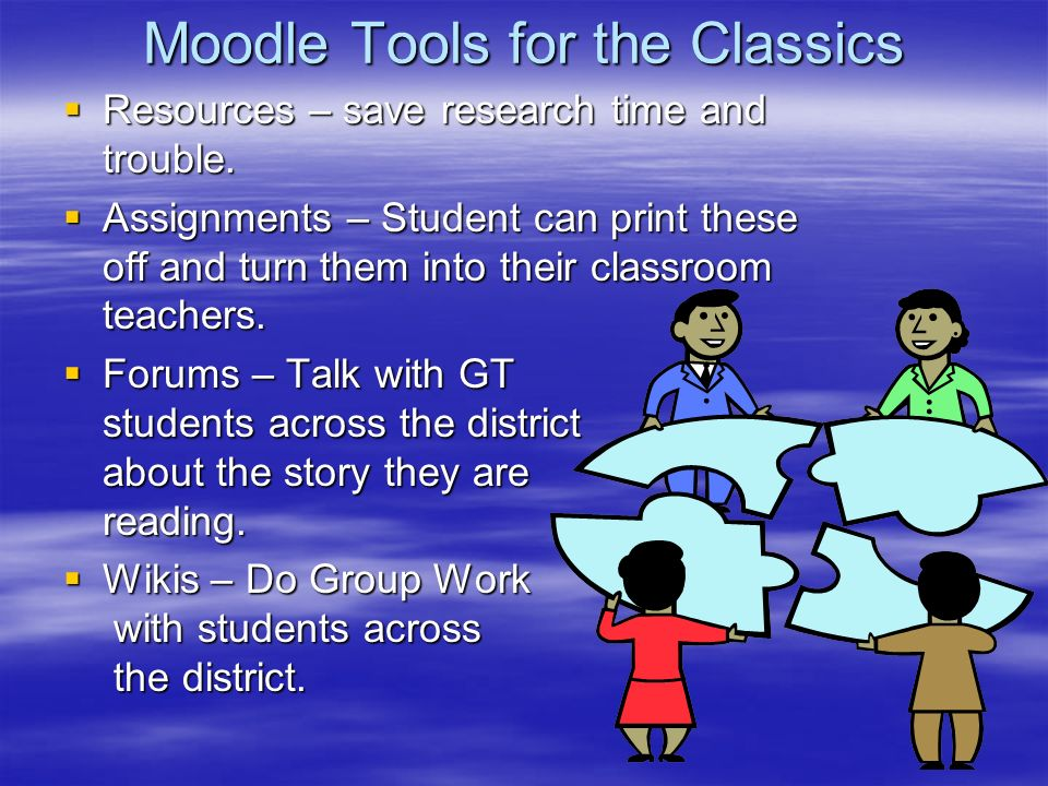 Moodle Tools for the Classics Resources – save research time and trouble.