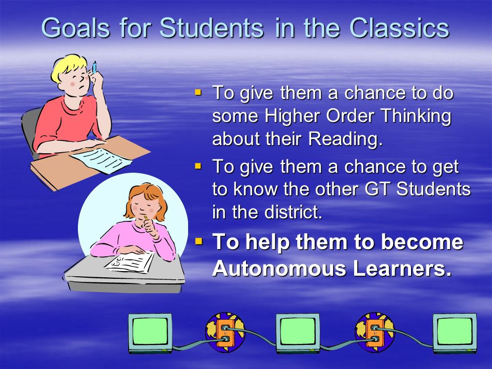 Classics Class Rules Respect the GT Coordinator and the Students in your on-line discussions.