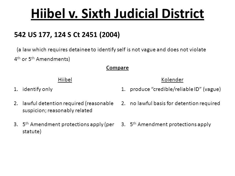 Hiibel v.
