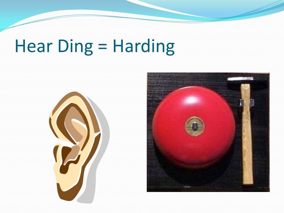 Hear Ding = Harding