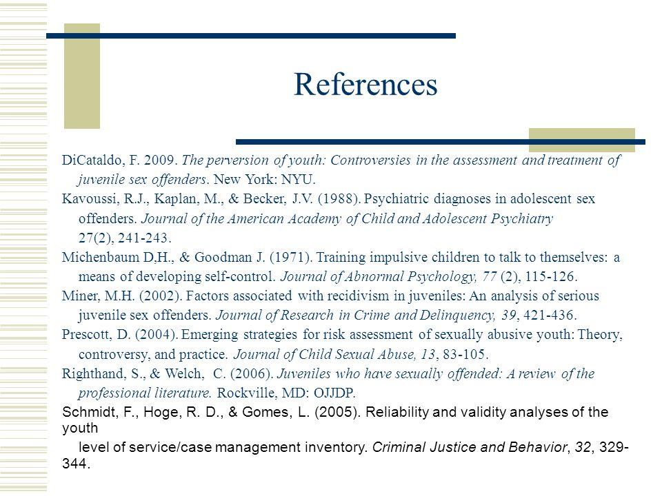 References DiCataldo, F. 2009.