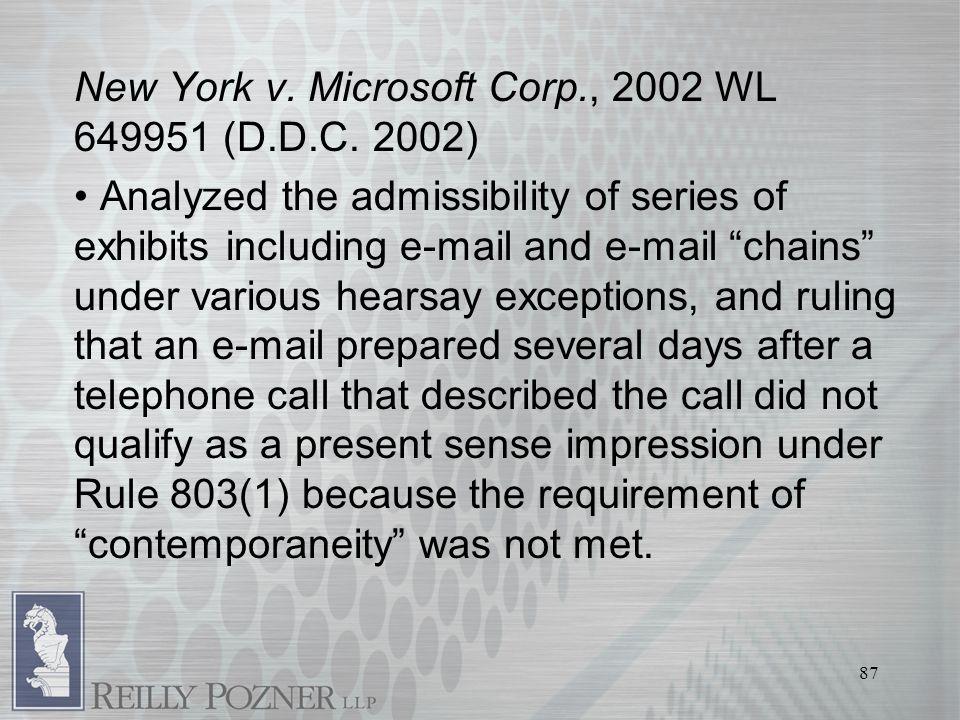 87 New York v. Microsoft Corp., 2002 WL 649951 (D.D.C.