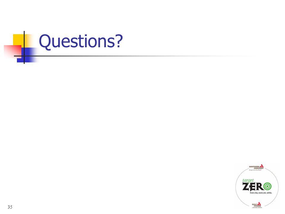 35 Questions?