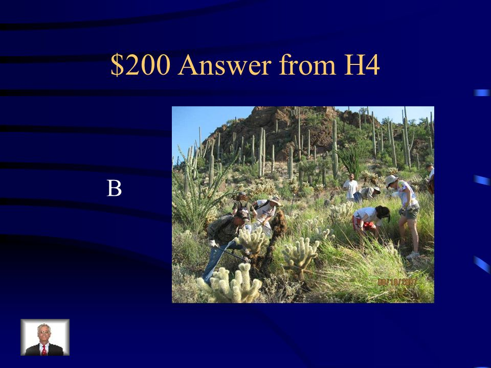 $200 Question from H4 Using convict labor to cut paperback trees or rip out thistle is a form of, a.Biological control b.Mechanical control c.Chemical control