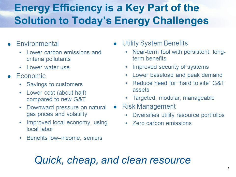 34 Energy Efficiency in Nevada Nevada is the only state currently that allows recovery of EE program costs using capitalization as well as a bonus return on those costs.