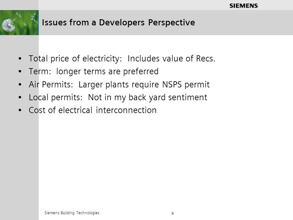.............. Siemens Building Technologies 10 Questions?