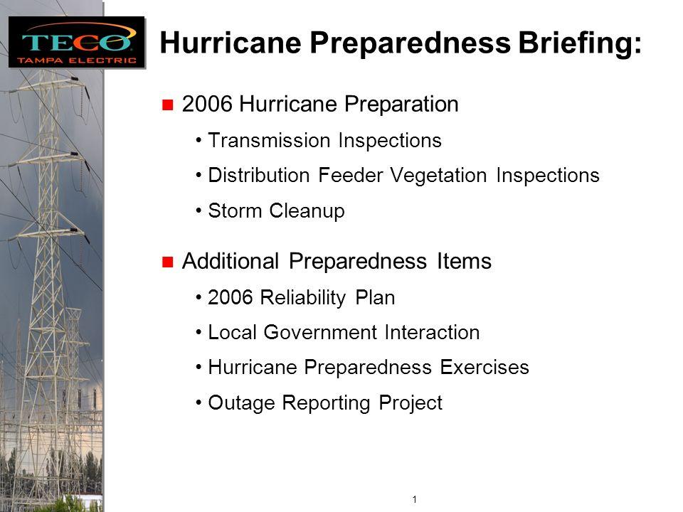 Florida Public Service Commission Internal Affairs Hurricane Season Preparation Paul Davis, Director Energy Control Center June 5, 2006