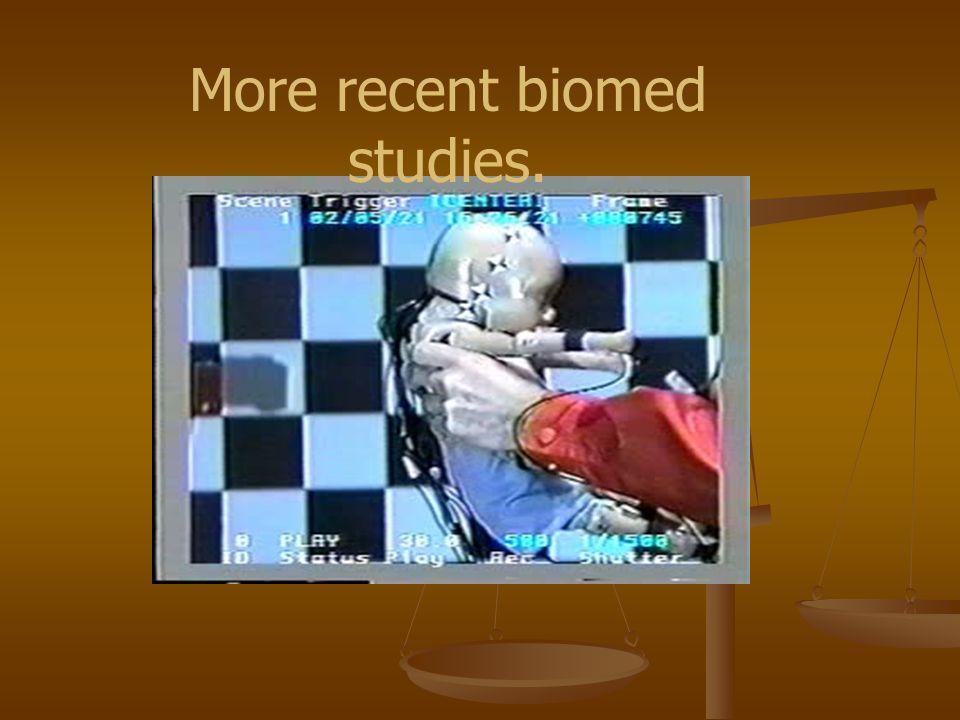 More recent biomed studies.