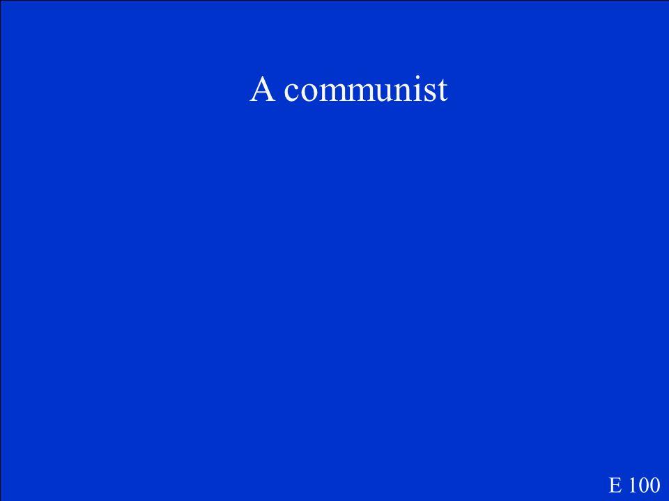 Define Bolshevik E 100