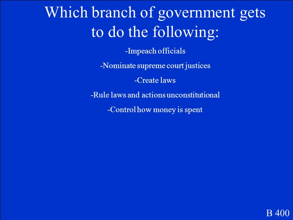 Solved the dilemma of large and small state representation with a bicameral legislature B 300