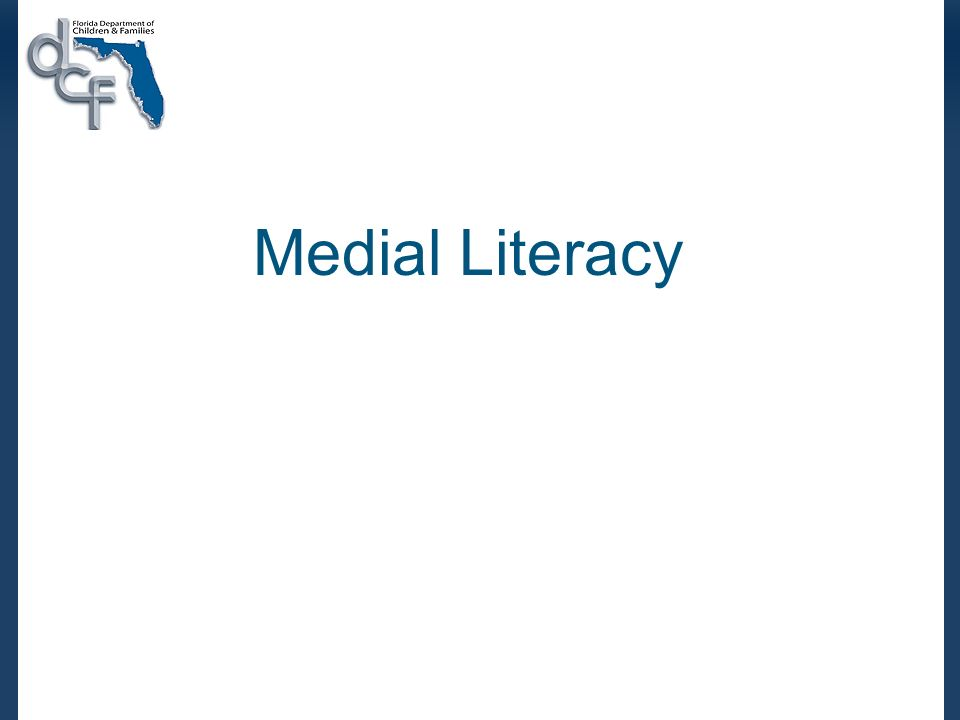 Medial Literacy
