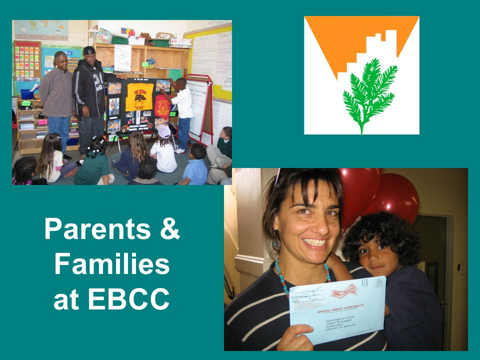 Parents & Families at EBCC
