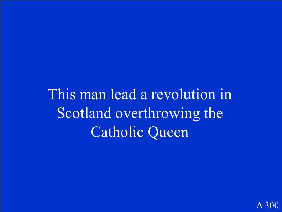 John Calvin A 200