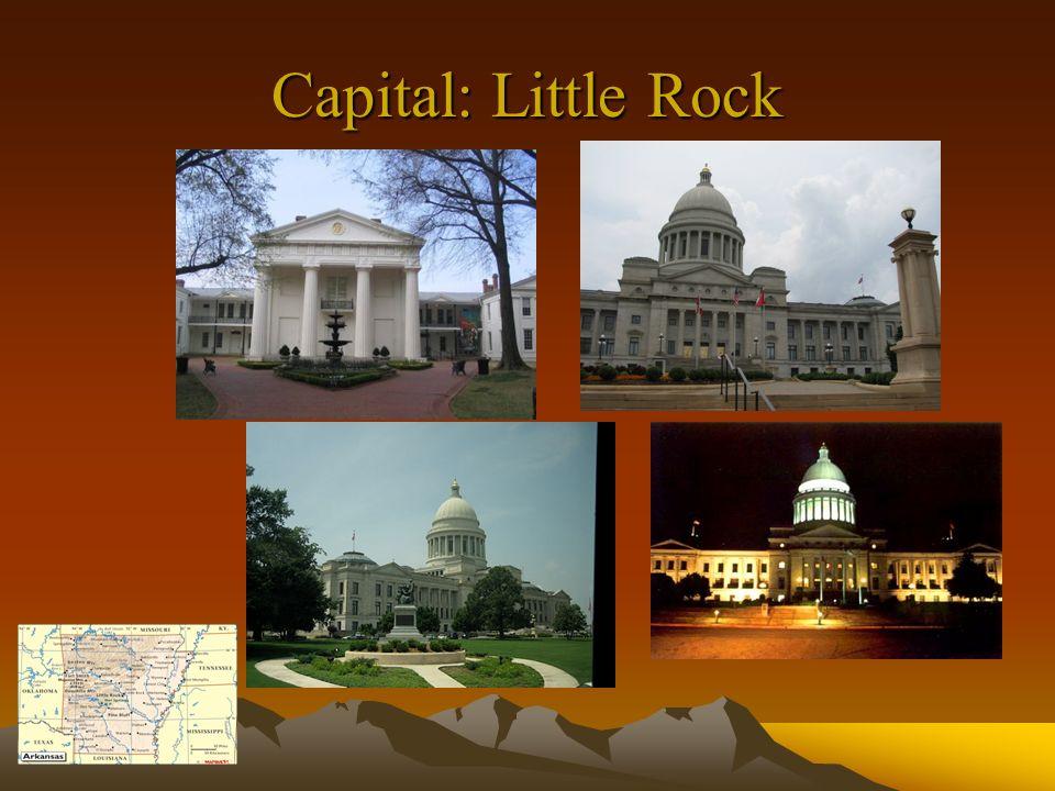 Capital: Little Rock