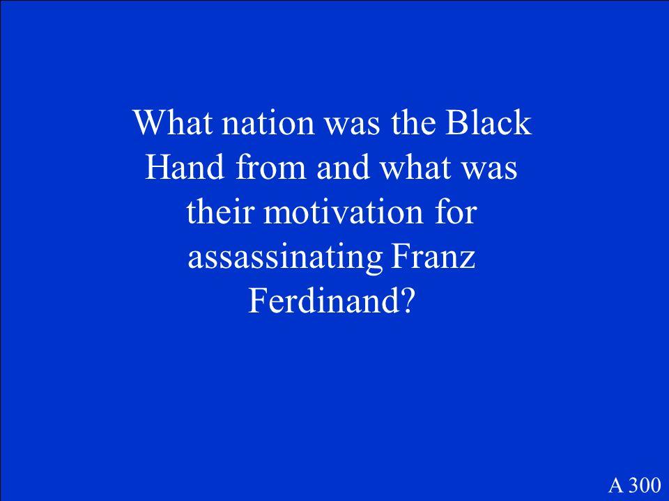 19 year old Bosnian who Assassinated Franz Ferdinand A 200