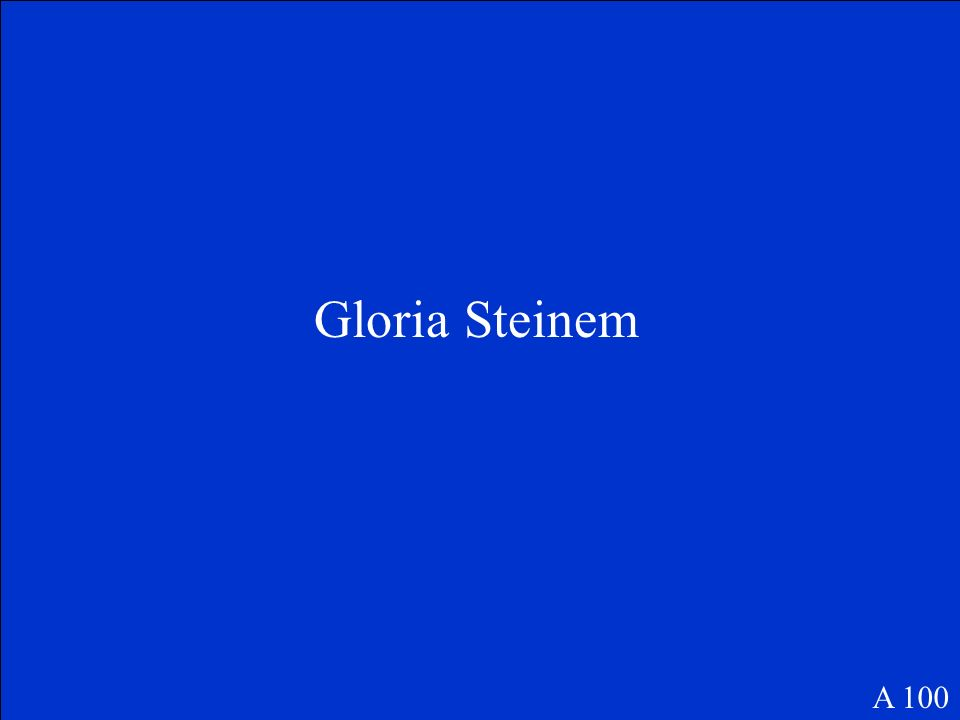 100 200 300 400 500 Cold WarCivil Rights Movement Laws and Legislation Vocabulary Misc. Final Question Womens Rights