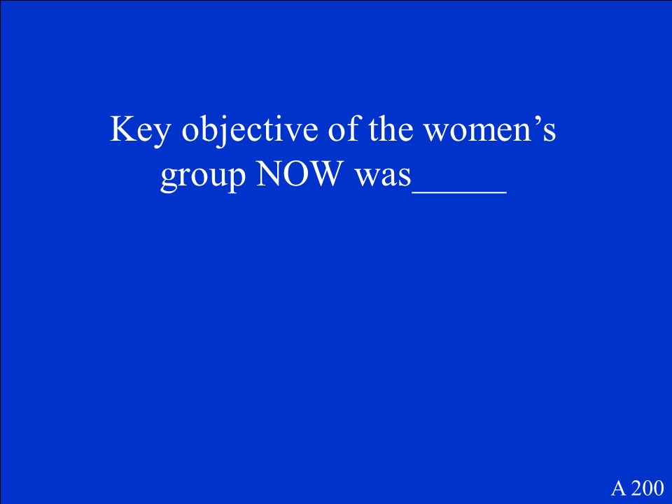 Helped to create the National Womens Political Caucus