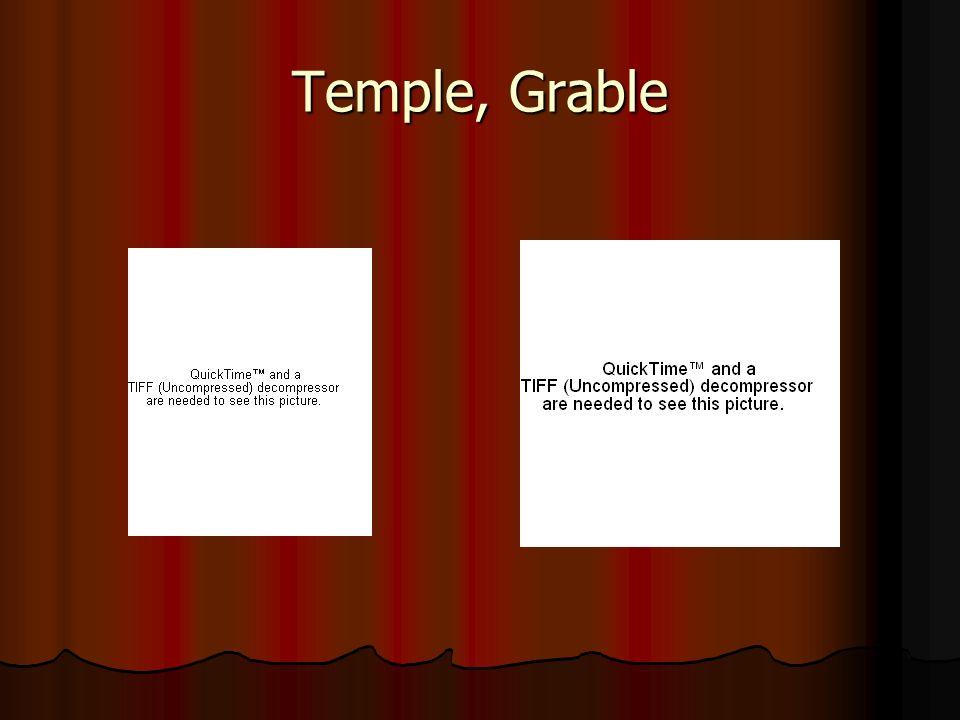 Temple, Grable