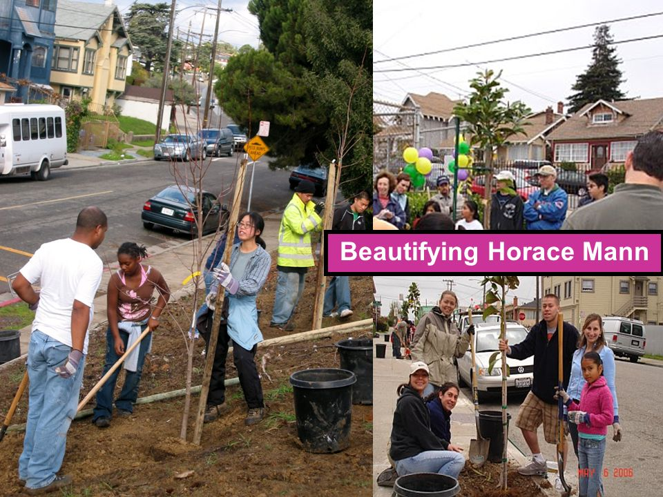 Beautifying Horace Mann
