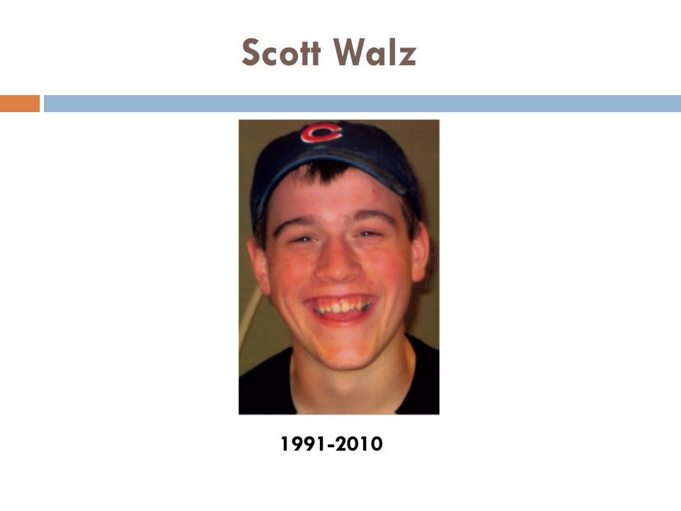 Scott Walz 1991-2010