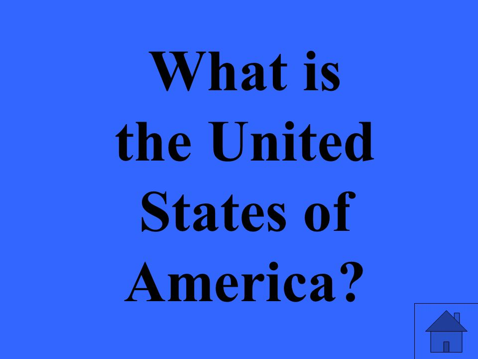 What is the United States of America