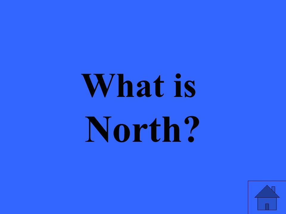 What is North