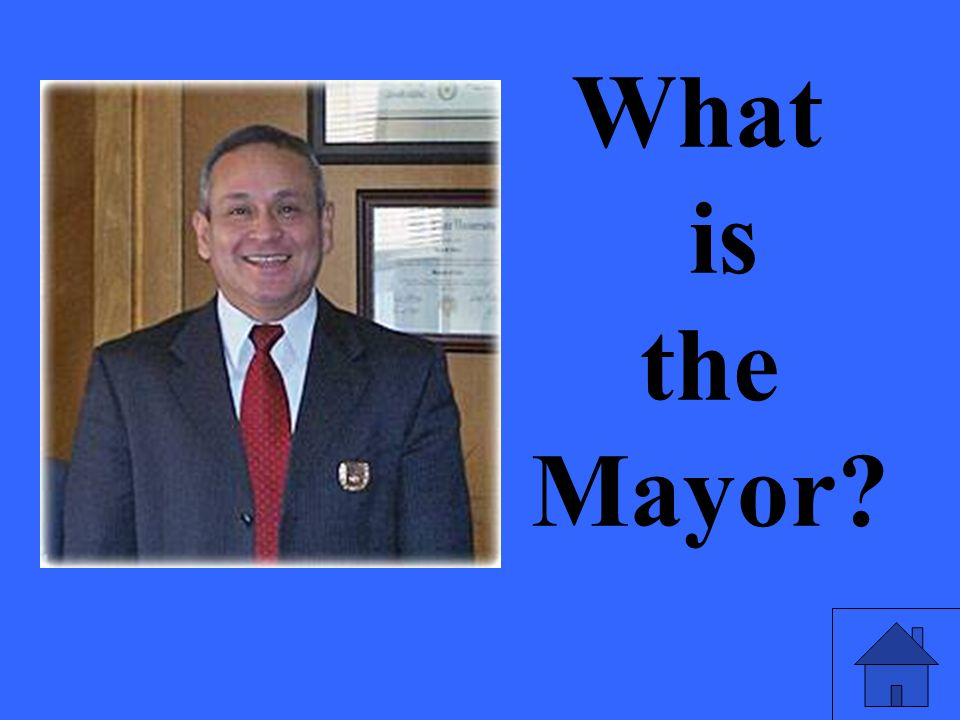 What is the Mayor