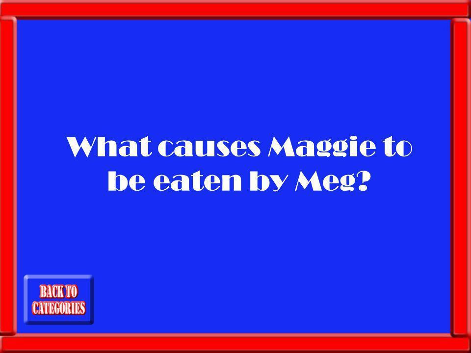 Maggies refusal to stop filming