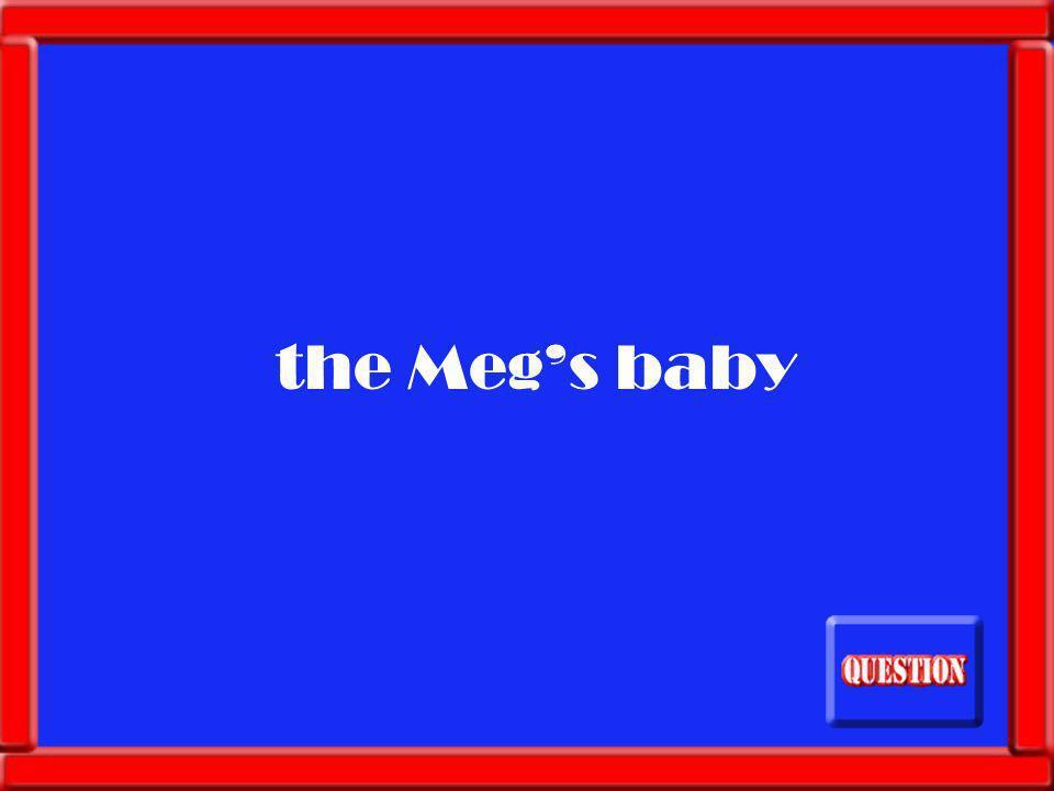 What makes the Meg even hungrier?