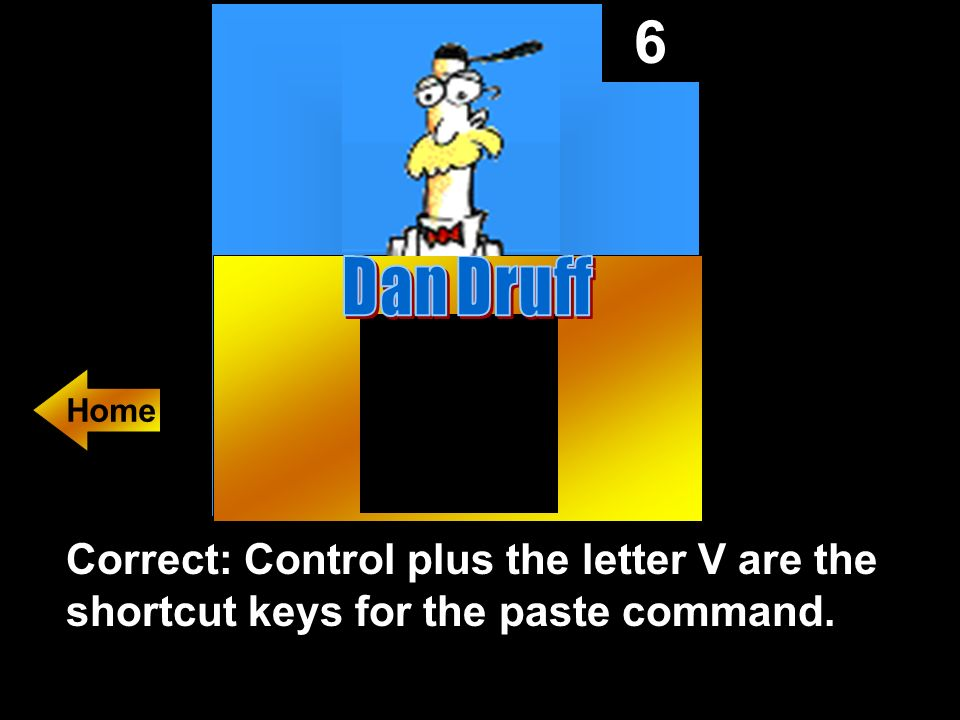 6 The shortcut keys to paste a URL at the action setting dialog box.