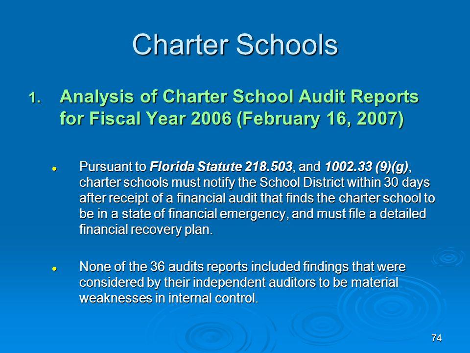 74 Charter Schools 1.