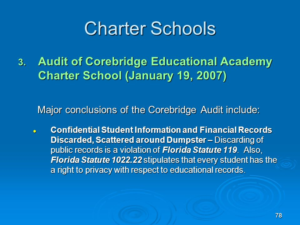 78 Charter Schools 3.