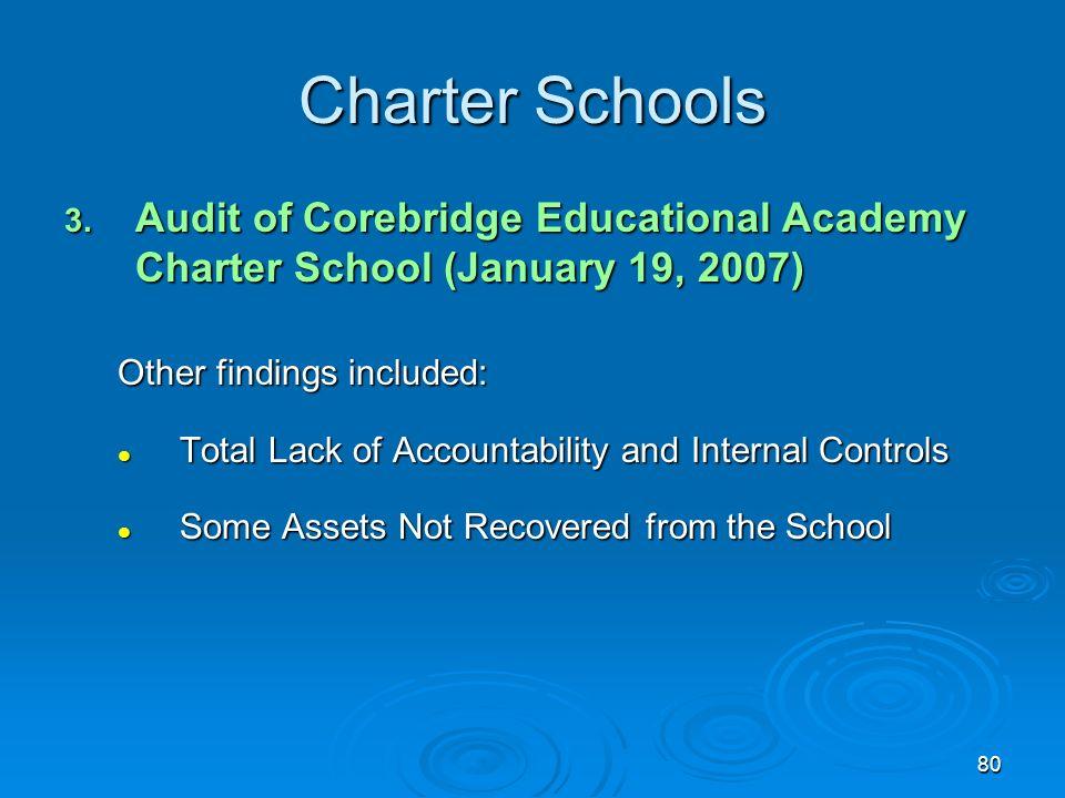 80 Charter Schools 3.