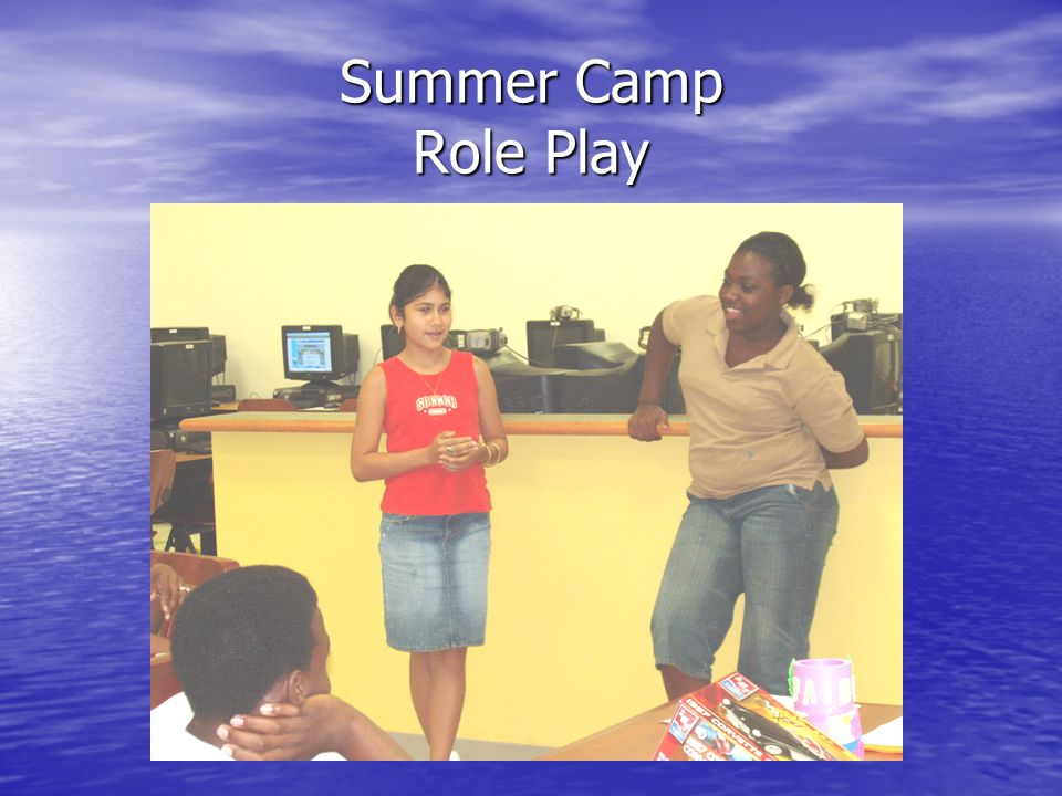 Summer Camp Role Play