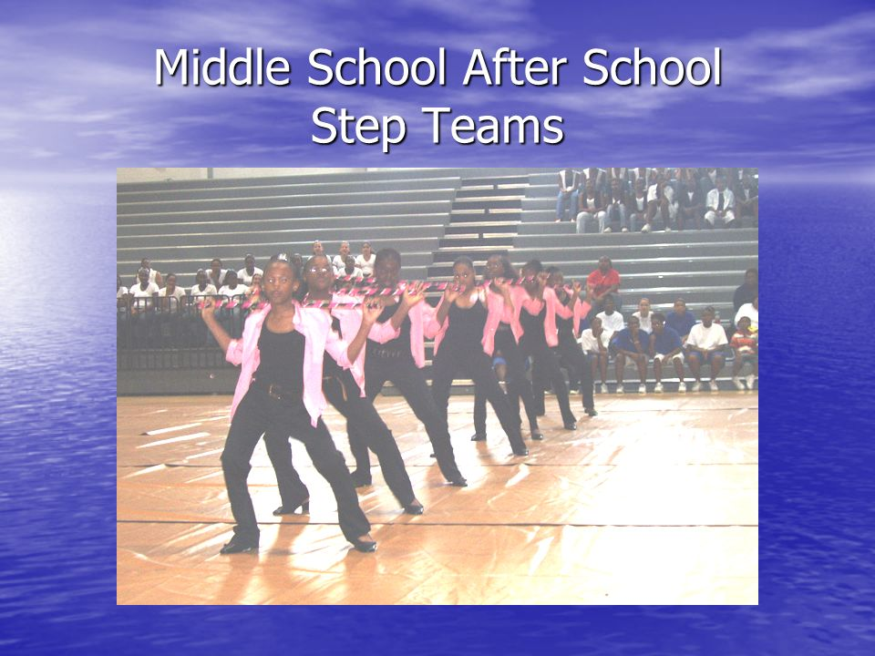 Middle School After School Step Teams