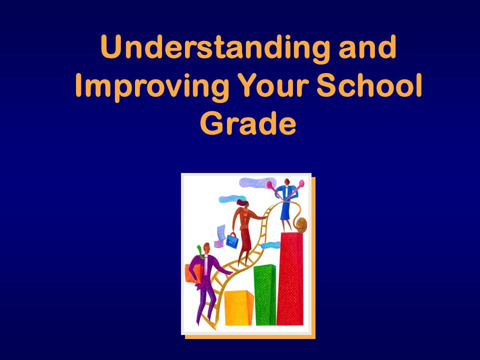 Understanding and Improving Your School Grade