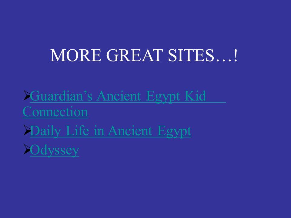 On-Line Resources Web Quests: http://iwebquest.com/egypt/ancientegypt.htm http://edweb.sd.su.edu/webquest/webquest.html