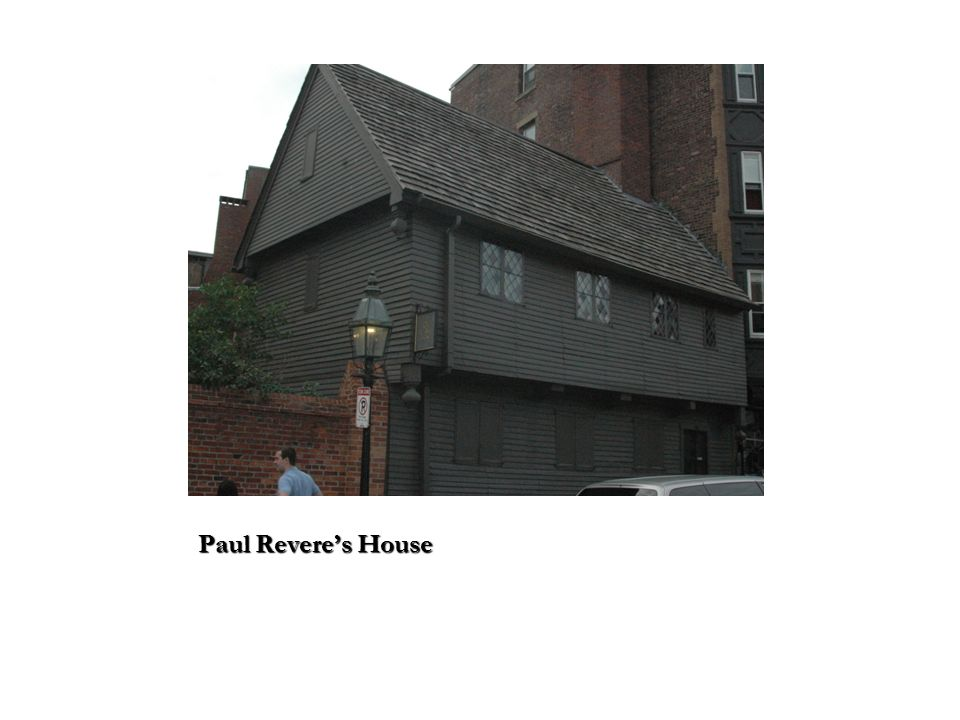 Paul Reveres House